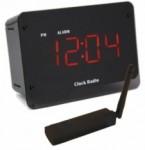 C1240 Covert Cube Alarm Clock w/ USB Reciever & Remote View