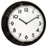 C130024C Large Color Wall Clock Camera